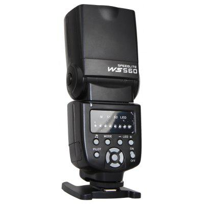 WS - 560 Flash Universale Flashlight Speedlite per Nikon / Canon / Olympus / Pentax