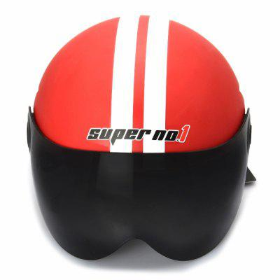 Motorcycle Helmet Half Open Face Adjustable Size Protection Gear Head Helmets Unisex Five-pointed Star Red NewestOther  Motorcycle Accessories<br>Motorcycle Helmet Half Open Face Adjustable Size Protection Gear Head Helmets Unisex Five-pointed Star Red Newest<br><br>Accessories type: Others<br>Applicable Motorcycle Brand: For Aprilia,For BMW,For Ducati,For Honda,For Kawasaki,For MV Agusta,For Suzuki,For Triumph,For Yamaha,Universal<br>Avaliable Color: Red<br>Package Contents: 1 x Motorcycle Helmet<br>Package size (L x W x H): 27.00 x 23.00 x 20.00 cm / 10.63 x 9.06 x 7.87 inches<br>Package weight: 1.0600 kg