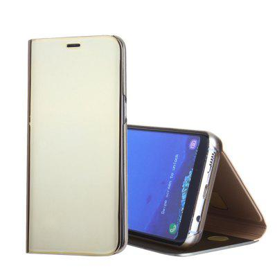 Full Body Case PU Leather Cover with Stand Plating Mirror Auto Sleep / Wake Up for Samsung S8Samsung S Series<br>Full Body Case PU Leather Cover with Stand Plating Mirror Auto Sleep / Wake Up for Samsung S8<br><br>Characteristic: Stand,  Plating Mirror,  Auto Sleep / Wake Up<br>Color: Black,Gold,Purple,Rose Gold,Silver,Sky blue<br>Compatible with: Samsung Galaxy S8<br>Features: Full Body Cases<br>For: Samsung Mobile Phone<br>Functions: Answering<br>Material: Plastic, PU Leather<br>Package Contents: 1 x Phone Case<br>Package size (L x W x H): 23.00 x 13.00 x 2.50 cm / 9.06 x 5.12 x 0.98 inches<br>Package weight: 0.1080 kg<br>Product size (L x W x H): 19.00 x 10.00 x 1.90 cm / 7.48 x 3.94 x 0.75 inches<br>Product weight: 0.0740 kg<br>Style: Solid Color