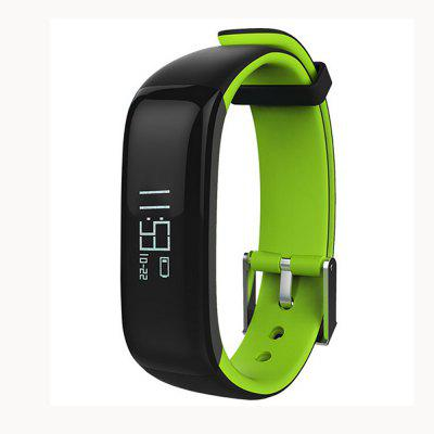 Buy P1 Smartband Fitness Bracelet Activity Tracker Smart Watches Blood Pressure Monitor Smart Band Pedometer Wristband For iPhone BLACK AND GREEN for $26.33 in GearBest store