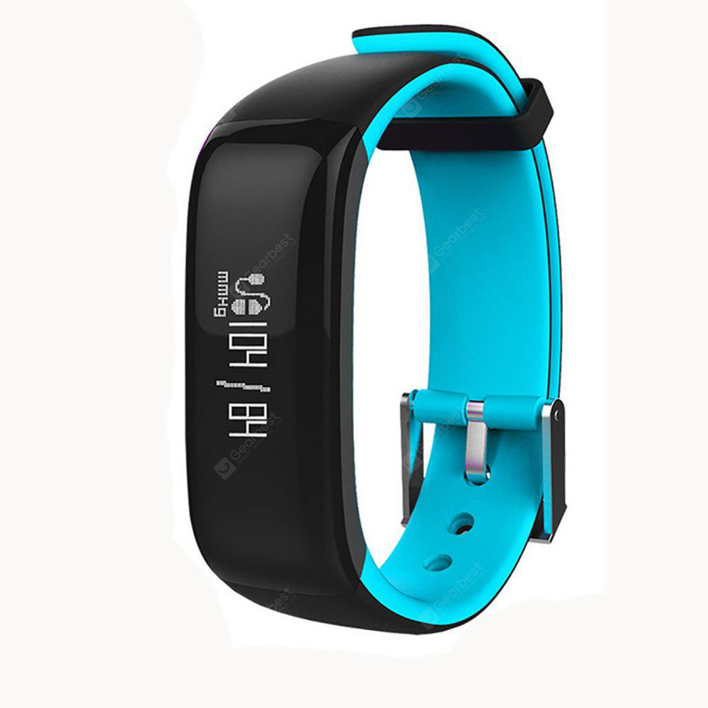P1 Smartband Fitness Braccialetto Activity Tracker Orologio Smart Monitor di Pressione Sanguigna Wristband Pedometro Smart Band per iPhone