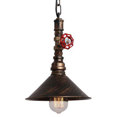 Brightness Pendant Light Rustic / Lodge Vintage Retro Painting Feature for Mini Style Metal Dining Room Kitchen Entry Ha