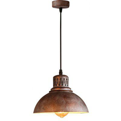 Brightness Pendant Light , Rustic/Lodge Vintage Retro Painting Feature for Mini Style Metal Kitchen Entry Game Room Hall