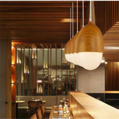 CXYlight Northern Europe Style wood grain Metal Glass Pendant LightsPendant Light<br>CXYlight Northern Europe Style wood grain Metal Glass Pendant Lights<br><br>Battery Included: No<br>Bulb Base: E26,E27<br>Bulb Included: No<br>Chain / Cord Adjustable or Not: Chain / Cord Adjustable<br>Chain / Cord Length ( CM ): 100<br>Features: Mini Style, Eye Protection<br>Finish: Paint<br>Fixture Height ( CM ): 27<br>Fixture Length ( CM ): 15<br>Fixture Width ( CM ): 15<br>Light Direction: Ambient Light<br>Number of Bulb: 1 Bulb<br>Number of Bulb Sockets: 1<br>Package Contents: 1 x Light, 1 x Assembly Part<br>Package size (L x W x H): 22.00 x 22.00 x 44.00 cm / 8.66 x 8.66 x 17.32 inches<br>Package weight: 1.5000 kg<br>Product size (L x W x H): 15.00 x 15.00 x 27.00 cm / 5.91 x 5.91 x 10.63 inches<br>Product weight: 1.0000 kg<br>Shade Material: Glass<br>Style: Vintage antique, Country, Artistic Style<br>Suggested Room Size: 0 - 5?<br>Suggested Space Fit: Bathroom,Bedroom,Cafes,Dining Room,Entry,Game Room,Hallway,Indoors,Kitchen,Living Room,Office<br>Type: Pendant Light, Retro<br>Voltage ( V ): AC110,AC220<br>Wattage per Bulb ( W ): 40