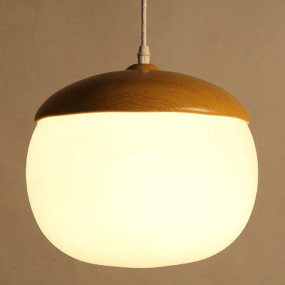 CXYlight 40W Northern Europe Style Wood Grain Metal Glass Pendant LightsPendant Light<br>CXYlight 40W Northern Europe Style Wood Grain Metal Glass Pendant Lights<br><br>Battery Included: No<br>Bulb Base: E26,E27<br>Bulb Included: No<br>Chain / Cord Adjustable or Not: Chain / Cord Adjustable<br>Chain / Cord Length ( CM ): 100<br>Features: Mini Style, Eye Protection<br>Finish: Paint<br>Fixture Height ( CM ): 25<br>Fixture Length ( CM ): 25<br>Fixture Width ( CM ): 25<br>Light Direction: Ambient Light<br>Number of Bulb: 1 Bulb<br>Number of Bulb Sockets: 1<br>Package Contents: 1 x Light, 1 x Assembly Part<br>Package size (L x W x H): 31.00 x 31.00 x 45.00 cm / 12.2 x 12.2 x 17.72 inches<br>Package weight: 2.1000 kg<br>Product size (L x W x H): 25.00 x 25.00 x 25.00 cm / 9.84 x 9.84 x 9.84 inches<br>Product weight: 1.5000 kg<br>Shade Material: Glass<br>Style: Vintage antique, Country, Artistic Style<br>Suggested Room Size: 0 - 5?<br>Suggested Space Fit: Bathroom,Bedroom,Cafes,Dining Room,Entry,Game Room,Hallway,Indoors,Kitchen,Living Room,Office<br>Type: Pendant Light, Retro<br>Voltage ( V ): AC110,AC220<br>Wattage per Bulb ( W ): 40