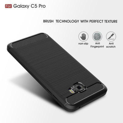 Wkae Case Solid Color Carbon Fiber Texture TPU Soft Protective Case for Samsung Galaxy C5 ProSamsung C Series<br>Wkae Case Solid Color Carbon Fiber Texture TPU Soft Protective Case for Samsung Galaxy C5 Pro<br><br>Color: Black,Red,Gray,Cadetblue<br>Features: Back Cover<br>Material: TPU, Carbon<br>Package Contents: 1x phone case<br>Style: Solid Color