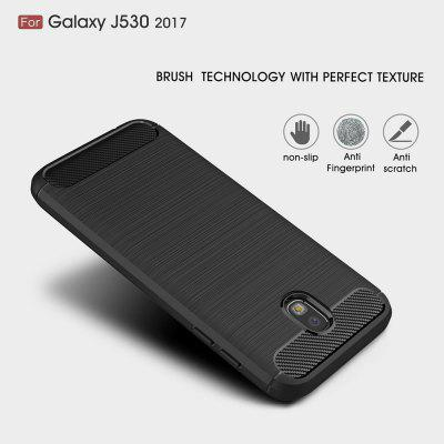 Wkae  Case Solid Color Carbon Fiber Texture TPU Soft Protective Case for Samsung Galaxy J530 2017Samsung J Series<br>Wkae  Case Solid Color Carbon Fiber Texture TPU Soft Protective Case for Samsung Galaxy J530 2017<br><br>Color: Black,Red,Gray,Cadetblue<br>Features: Back Cover<br>Material: TPU, Carbon<br>Package Contents: 1x phone case<br>Style: Solid Color