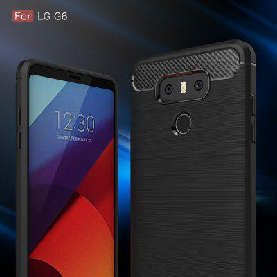 Wkae Solid Color Carbon Fiber Texture TPU Soft Protective Case for LG G6Cases &amp; Leather<br>Wkae Solid Color Carbon Fiber Texture TPU Soft Protective Case for LG G6<br><br>Compatible Model: LG G6<br>Features: Back Cover<br>Mainly Compatible with: LG<br>Material: Carbon, TPU<br>Package Contents: 1 x Phone Case<br>Package size (L x W x H): 16.80 x 9.30 x 1.50 cm / 6.61 x 3.66 x 0.59 inches<br>Package weight: 0.0300 kg<br>Product Size(L x W x H): 14.80 x 7.30 x 1.00 cm / 5.83 x 2.87 x 0.39 inches<br>Product weight: 0.0100 kg<br>Style: Solid Color