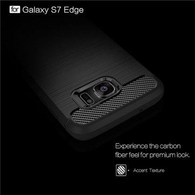 Wkae Case Solid Color Carbon Fiber Texture TPU Soft Protective Case for Wkae Galaxy S7 EdgeSamsung S Series<br>Wkae Case Solid Color Carbon Fiber Texture TPU Soft Protective Case for Wkae Galaxy S7 Edge<br><br>Features: Back Cover<br>For: Samsung Mobile Phone<br>Material: TPU, Carbon<br>Package Contents: 1?Phone Case<br>Style: Solid Color