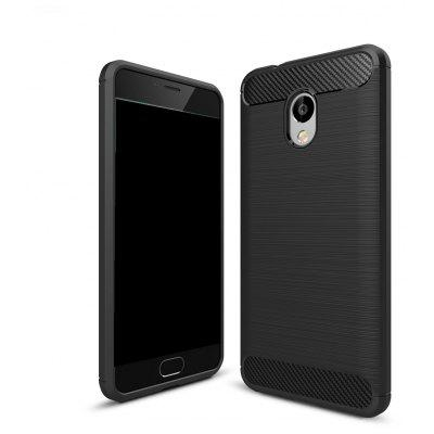Wkae Solid Color Carbon Fiber Texture TPU Soft Protective Case for Noblue 5S