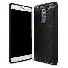 Wkae Solid Color Carbon Fiber Texture TPU Soft Protective Case for HUAWEI Honor Acer 6X