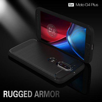 Wkae Solid Color Carbon Fiber Texture TPU Soft Protective Case for MOTO G4 PlusCases &amp; Leather<br>Wkae Solid Color Carbon Fiber Texture TPU Soft Protective Case for MOTO G4 Plus<br><br>Compatible Model: MOTO G4 Plus<br>Features: Back Cover<br>Material: Carbon, TPU<br>Package Contents: 1 x Phone Case<br>Package size (L x W x H): 18.00 x 12.00 x 2.00 cm / 7.09 x 4.72 x 0.79 inches<br>Package weight: 0.0800 kg<br>Product weight: 0.0200 kg<br>Style: Mixed Color, Solid Color