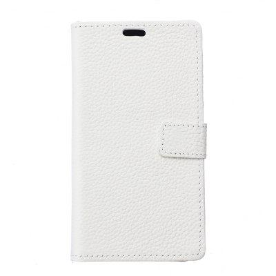 Wkae Genuine Leather Flip Stand Case with Wallet Card Slots for ASUS ZD552KL