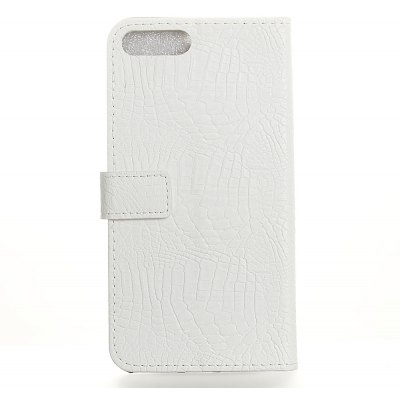 Wkae Crocodile Texture PU Leather Flip Stand Case with Wallet Card Slots for ASUS ZE554KL