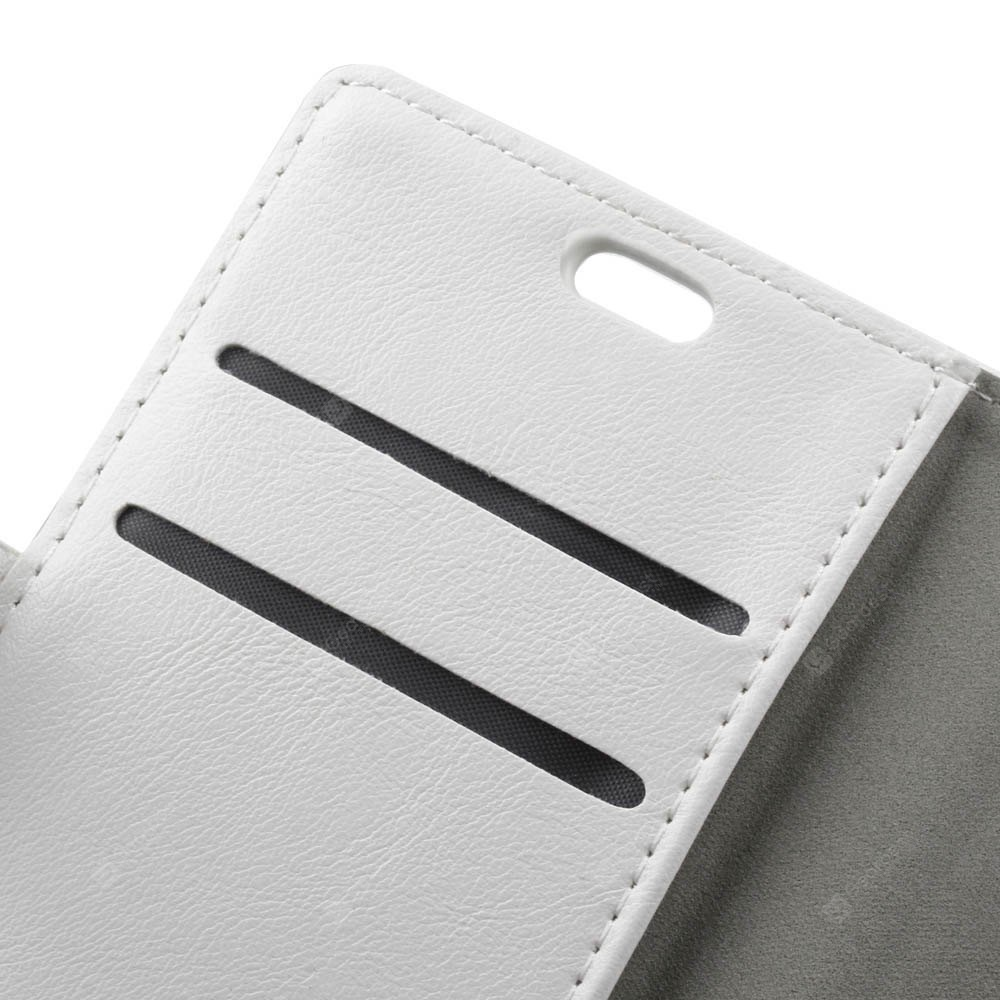 Wkae Crazy Horse Texture PU Leather Flip Stand Case with Wallet Card Slots for ZTE A521
