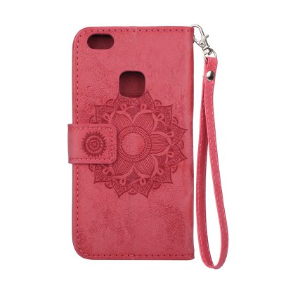 Wkae Datura Embossing PU Leather Case with Wallet Card Slots for HUAWEI P10 LiteCases &amp; Leather<br>Wkae Datura Embossing PU Leather Case with Wallet Card Slots for HUAWEI P10 Lite<br><br>Color: Pink,Black,Purple,Brown,Gold,Rose Madder<br>Compatible Model: HUAWEI P10 Lite<br>Features: Cases with Stand, With Credit Card Holder, Anti-knock, Dirt-resistant<br>Mainly Compatible with: HUAWEI<br>Material: TPU, PU Leather<br>Package Contents: 1 x Phone Case<br>Package size (L x W x H): 20.00 x 12.00 x 2.00 cm / 7.87 x 4.72 x 0.79 inches<br>Package weight: 0.1000 kg<br>Product weight: 0.0800 kg<br>Style: Solid Color