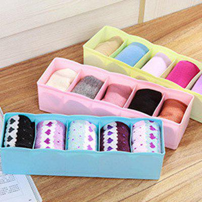 DIHE Candy Color Separated Underwear Boxes in DrawerStorage Boxes &amp; Bins<br>DIHE Candy Color Separated Underwear Boxes in Drawer<br><br> Product weight: 0.0680 kg<br>Available Color: Blue,Green,Red<br>Functions: Bedroom<br>Materials: PP<br>Package Contents: 1 x Plastic Box<br>Package Size(L x W x H): 26.70 x 8.50 x 6.50 cm / 10.51 x 3.35 x 2.56 inches<br>Package weight: 0.0700 kg<br>Product Size(L x W x H): 26.50 x 8.30 x 6.30 cm / 10.43 x 3.27 x 2.48 inches<br>Types: Storage Boxes and Bins