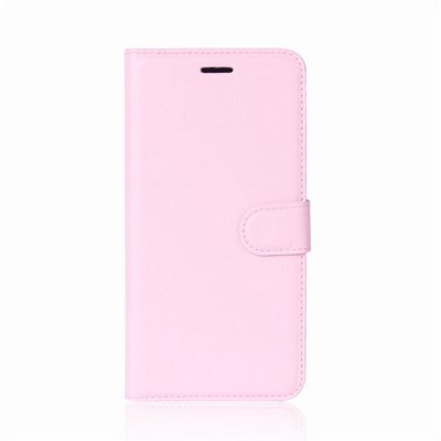 Solid Color Litchi Pattern Wallet Style Front Buckle Flip PU Leather Case with Card Slots for Samsung Galaxy C10 от GearBest.com INT