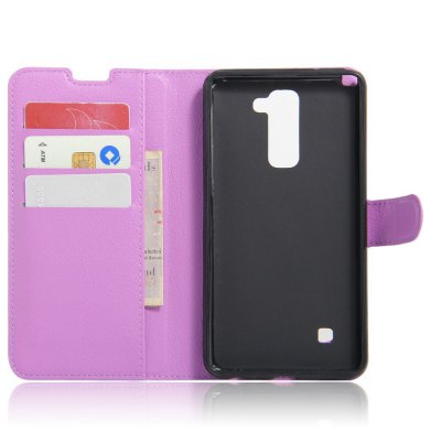 Solid Color Litchi Pattern Wallet Style Front Buckle Flip PU Leather Case with Card Slots for LG Stylus 2 LS775Cases &amp; Leather<br>Solid Color Litchi Pattern Wallet Style Front Buckle Flip PU Leather Case with Card Slots for LG Stylus 2 LS775<br><br>Package Contents: 1 x Litchi Pattern Faux Leather Case<br>Package size (L x W x H): 15.00 x 18.00 x 5.00 cm / 5.91 x 7.09 x 1.97 inches<br>Package weight: 0.1000 kg<br>Product weight: 0.0300 kg