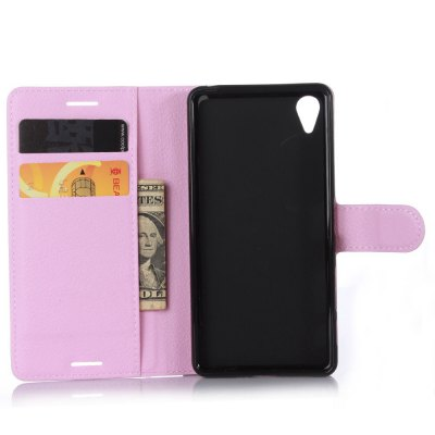 Solid Color Litchi Pattern Wallet Style Front Buckle Flip PU Leather Case with Card Slots for Sony Xperia X PerformanceCases &amp; Leather<br>Solid Color Litchi Pattern Wallet Style Front Buckle Flip PU Leather Case with Card Slots for Sony Xperia X Performance<br><br>Package Contents: 1 x Litchi Pattern Faux Leather Case<br>Package size (L x W x H): 15.00 x 18.00 x 5.00 cm / 5.91 x 7.09 x 1.97 inches<br>Package weight: 0.1000 kg<br>Product weight: 0.0300 kg