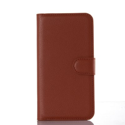 Solid Color Litchi Pattern Wallet Style Front Buckle Flip PU Leather Case with Card Slots for Huawei Enjoy 5SCases &amp; Leather<br>Solid Color Litchi Pattern Wallet Style Front Buckle Flip PU Leather Case with Card Slots for Huawei Enjoy 5S<br><br>Package Contents: 1 x Litchi Pattern Faux Leather Case<br>Package size (L x W x H): 15.00 x 18.00 x 5.00 cm / 5.91 x 7.09 x 1.97 inches<br>Package weight: 0.1000 kg<br>Product weight: 0.0300 kg