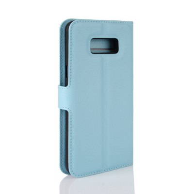 Solid Color Litchi Pattern Wallet Style Front Buckle Flip PU Leather Case with Card Slots for Samsung Galaxy S8 PlusSamsung S Series<br>Solid Color Litchi Pattern Wallet Style Front Buckle Flip PU Leather Case with Card Slots for Samsung Galaxy S8 Plus<br><br>Features: With Credit Card Holder<br>Material: PU Leather<br>Package Contents: 1 x Litchi Pattern Faux Leather Case<br>Package size (L x W x H): 15.00 x 18.00 x 5.00 cm / 5.91 x 7.09 x 1.97 inches<br>Package weight: 0.1000 kg<br>Product weight: 0.0300 kg<br>Style: Solid Color
