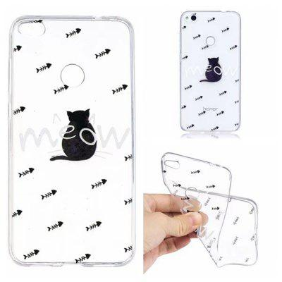 Color Pattern Ultra-Thin Light Weight Soft TPU Back Case for Huawei P8 Lite 2017