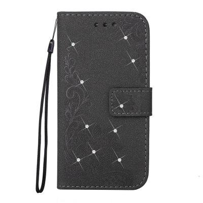 Bling-bling Drill Textured Flower Pattern Front Buckle Flip PU Leather Case for iPhone 7iPhone Cases/Covers<br>Bling-bling Drill Textured Flower Pattern Front Buckle Flip PU Leather Case for iPhone 7<br><br>Features: Jewel Covered Cases<br>Material: PU Leather<br>Package Contents: 1 x Bling-bling Drill Flip Wallet Case<br>Package size (L x W x H): 10.00 x 10.00 x 5.00 cm / 3.94 x 3.94 x 1.97 inches<br>Package weight: 0.0500 kg<br>Product weight: 0.0300 kg<br>Style: Diamond/Rhinestone Decorated Case