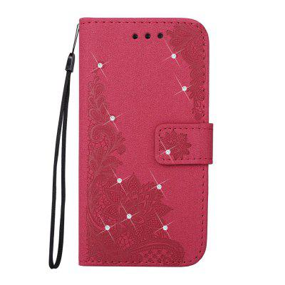 Bling-bling Drill Textured Flower Pattern Front Buckle Flip PU Leather Case for Samsung Galaxy J5 2016 VersionSamsung J Series<br>Bling-bling Drill Textured Flower Pattern Front Buckle Flip PU Leather Case for Samsung Galaxy J5 2016 Version<br><br>Features: Jewel Covered Cases<br>Material: PU Leather<br>Package Contents: 1 x Bling-bling Drill Flip Wallet Case<br>Package size (L x W x H): 10.00 x 10.00 x 5.00 cm / 3.94 x 3.94 x 1.97 inches<br>Package weight: 0.0500 kg<br>Product weight: 0.0300 kg<br>Style: Diamond Look
