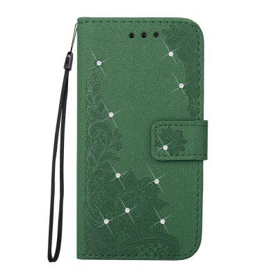 Bling-bling Drill Textured Flower Pattern Front Buckle Flip PU Leather Case for Huawei P9 LiteCases &amp; Leather<br>Bling-bling Drill Textured Flower Pattern Front Buckle Flip PU Leather Case for Huawei P9 Lite<br><br>Package Contents: 1 x Bling-bling Drill Flip Wallet Case<br>Package size (L x W x H): 10.00 x 10.00 x 5.00 cm / 3.94 x 3.94 x 1.97 inches<br>Package weight: 0.0500 kg<br>Product weight: 0.0300 kg