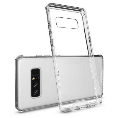 Transparente Surface Shockproof Back PC Case para Samsung Galaxy Nota 8