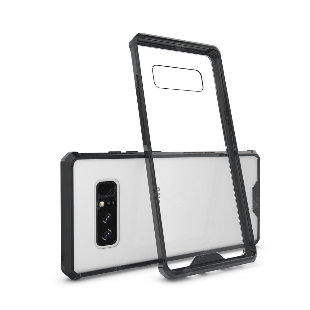 Transparent Surface Shockproof Back PC Case for Samsung Galaxy Note 8