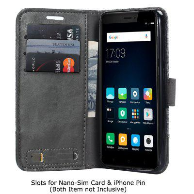 Durable Canvas Design Flip PU Leather Wallet Case for Xiaomi Redmi 4XCases &amp; Leather<br>Durable Canvas Design Flip PU Leather Wallet Case for Xiaomi Redmi 4X<br><br>Package Contents: 1 x Canvas Design Flip PU Leather Case<br>Package size (L x W x H): 10.00 x 10.00 x 5.00 cm / 3.94 x 3.94 x 1.97 inches<br>Package weight: 0.0500 kg<br>Product weight: 0.0300 kg