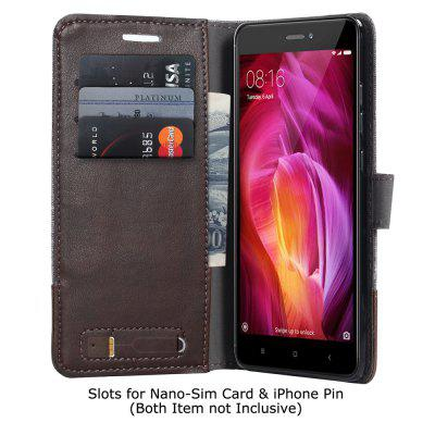 Durable Canvas Design Flip PU Leather Wallet Case for Xiaomi Redmi Note 4Cases &amp; Leather<br>Durable Canvas Design Flip PU Leather Wallet Case for Xiaomi Redmi Note 4<br><br>Features: With Credit Card Holder<br>Material: PU Leather<br>Package Contents: 1 x Canvas Design Flip PU Leather Case<br>Package size (L x W x H): 10.00 x 10.00 x 5.00 cm / 3.94 x 3.94 x 1.97 inches<br>Package weight: 0.0500 kg<br>Product weight: 0.0300 kg<br>Style: Mixed Color