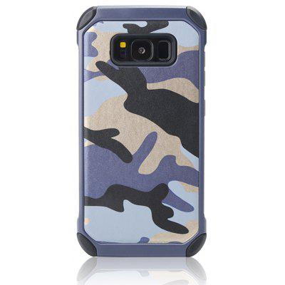 Outdoor Style Camouflage Design TPU and Plastic Back Case for Samsung Galaxy S8