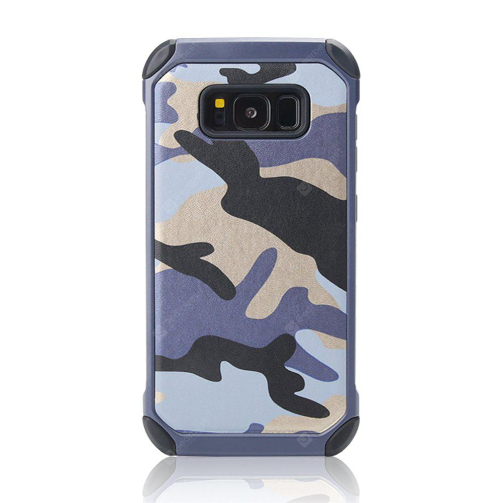 Outdoor Style Camouflage Design TPU and Plastic Back Case for Samsung Galaxy S8 Plus