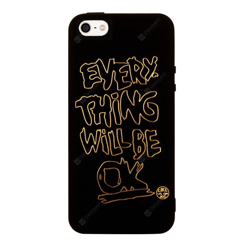 Cool Pattern Soft TPU Back Case for iPhone SE