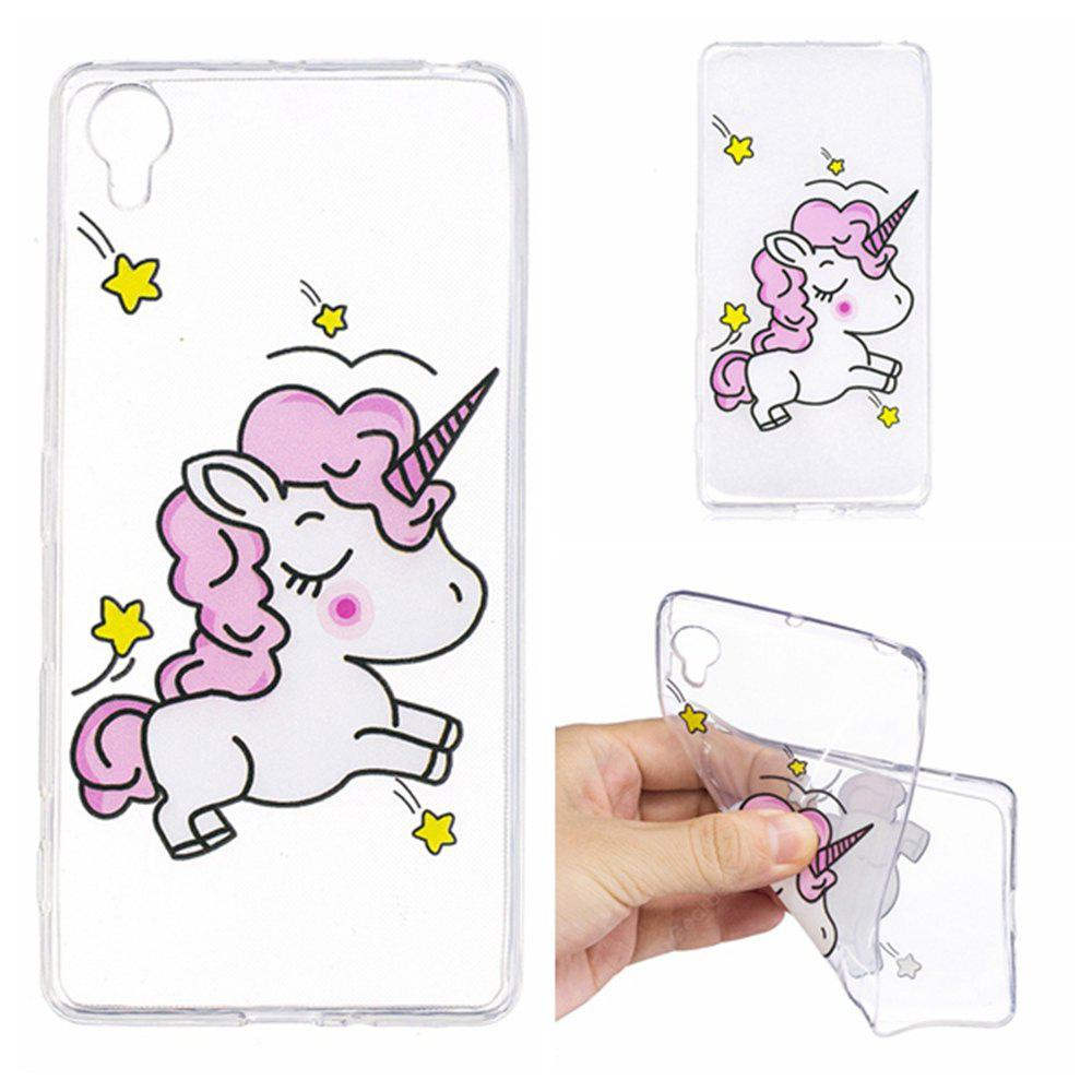 Color Pattern Ultra-Thin Light Weight Soft TPU Back Case for Sony Xperia X