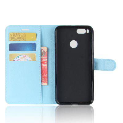 Solid Color Litchi Pattern Wallet Style Front Buckle Flip PU Leather Case with Card Slots for Xiaomi 5XCases &amp; Leather<br>Solid Color Litchi Pattern Wallet Style Front Buckle Flip PU Leather Case with Card Slots for Xiaomi 5X<br><br>Package Contents: 1 x Litchi Pattern Faux Leather Case<br>Package size (L x W x H): 10.00 x 10.00 x 5.00 cm / 3.94 x 3.94 x 1.97 inches<br>Package weight: 0.0500 kg<br>Product weight: 0.0300 kg