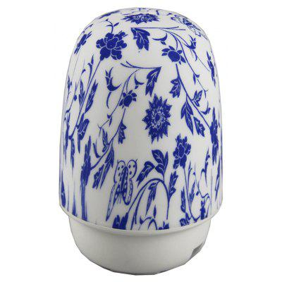 Home Appliance Smart Voice Control Blue and White Porcelain Aroma Diffuser