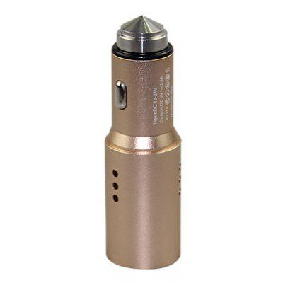High Efficiency 5V/2.4A USB Car Charger with Air Purifier