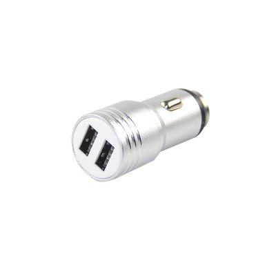 Metal Material 5V/2.1A USB Car Charger with Safety HammerCar Charger<br>Metal Material 5V/2.1A USB Car Charger with Safety Hammer<br><br>Apply to: MP4,MP3,Ipad Mini,iPhone 5/5S,Laptop Computers,Phones,Digital Cameras,Other AC and USB Appliances,iPhone 4/4s/iPod/iPad 2/The Nwe iPad,Samsung Phones,iPhone 4/4s/iPod/iPad 2/The New iPad<br>Apply To Car Brand: Acura,Aston Martin,Audi,Bentley,BMW,Bugatti,Buick,Cadillac,Chevrolet,Chrysler,Citroen,Daewoo,Dodge,Ferrari,Ford,GMC GMC,Honda,Hummer,Hyundai,Infiniti,Jaguar,Jeep,Kia,Lamborghini,Land Rover,Lexus,Linco<br>Input ( Car Charger ): 12V<br>Output ( Car Charger ): 5V/1A 5V/2.1A<br>Package Contents: 1 x Car Charger<br>Working Temp.(?): -20-60 Deg.C
