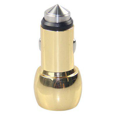 Gourd Shape High Speed USB Car Charger with Safety Hammer