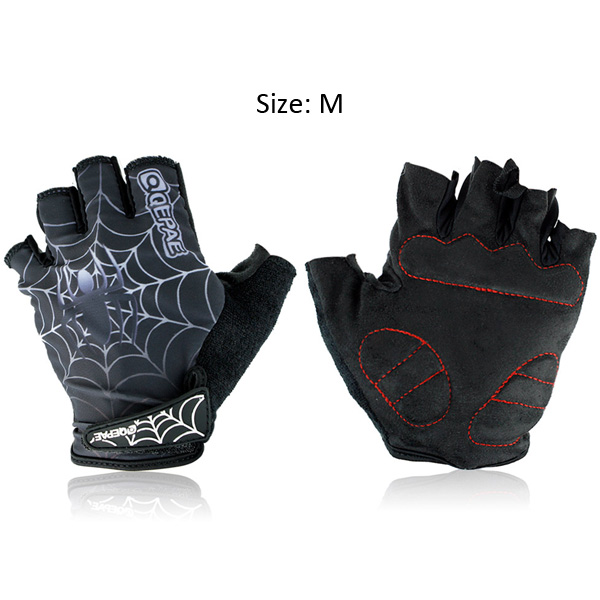 Spider Web Protective Elbow Sleeve Anti-Skid Elbow Warmers Sleeves For Cycling Y