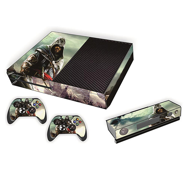 Protective Game Player And Controller Skin Sticker With Assassins