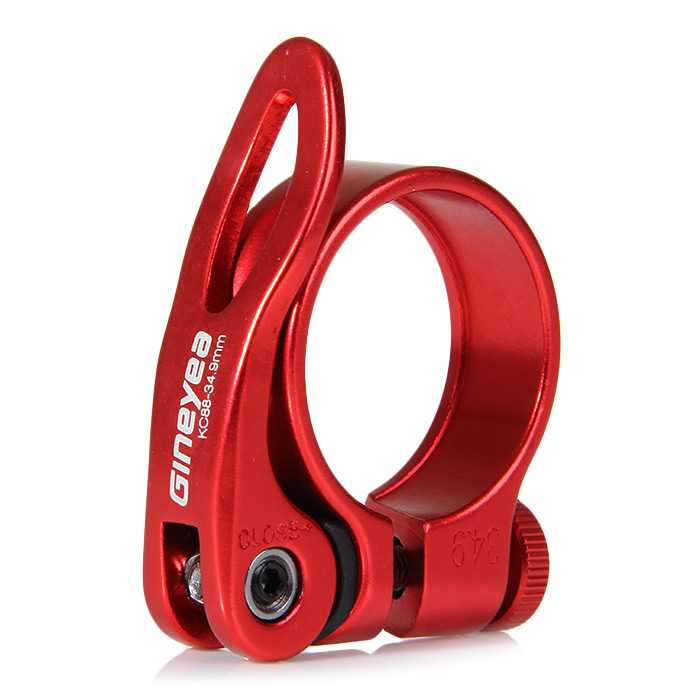 GINEYEA Road MTB XC mountain Bike Seat Post Clamp Quick Release Seatpost Clamps