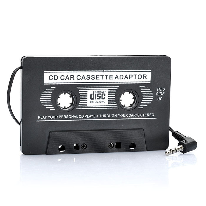 Auto Transmitter Cassette Tape Adapter for MP3 / CD / DVD Player Sale, Price & Reviews | Gearbest