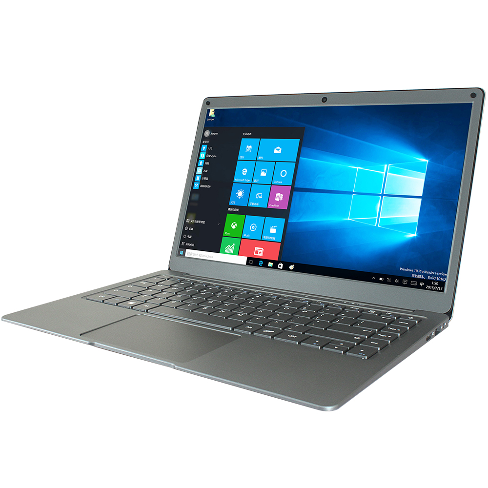 Jumper Ezbook X3 Laptop Notebook 4GB 64GB  - Silver US Plug (2-pin)