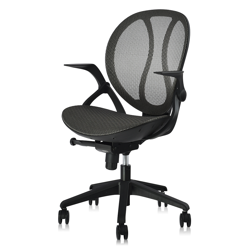 Au Mcb088 Grey Langria Mid Back Swivel Grey Mesh Office Chair Tash Chair With Pneumatic Lift System Synchro Tilt With 3 Position Locking And Adjustable Armrest 140 Kg Capacity Sale Price Reviews Gearbest