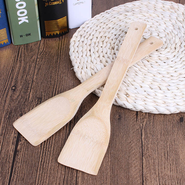 Gifts Kitchen Supplies Spatula 30cm Non Stick Special Bamboo Shovel Does Not Hurt The Pot Square Bamboo Shovel Sale Price Reviews Gearbest